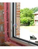 Garui nepralaidi Vidinė juosta langų montavimui, plotis 100mm, ilgis 25m