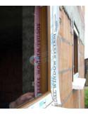 Garui pralaidi Išorinė juosta langų montavimui, plotis 100mm, ilgis 25m