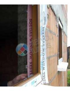 Garui pralaidi Išorinė juosta langų montavimui, plotis 150mm, ilgis 25m