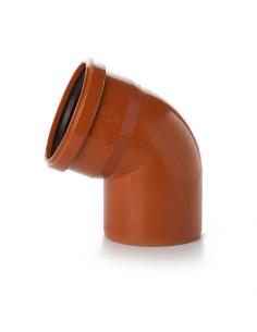 Alkūnė lauko kanalizacijos PVC 110mm / 67*