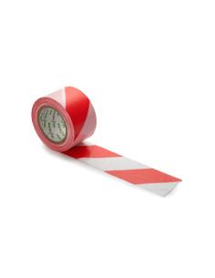Signalinė aptvėrimo įspėjamoji juosta, spalvos Balta/Raudonas [200m]