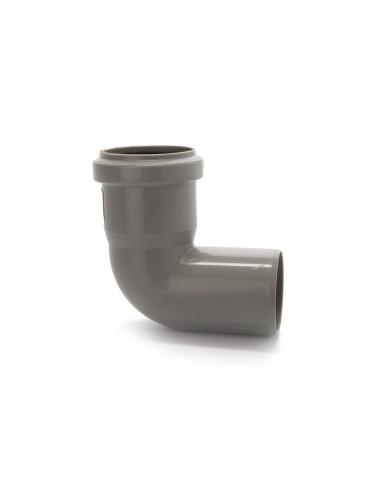 Alkūnė vidaus kanalizacijos PVC 50mm / 87*
