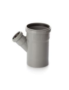 Trišakis vidaus kanalizacijos PVC 110 x 50 x 110mm / 45*