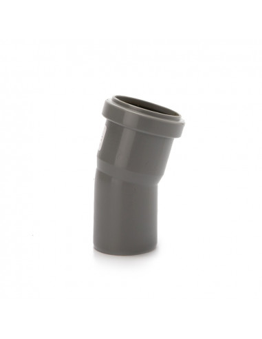 Alkūnė vidaus kanalizacijos PVC 50mm / 15*