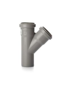 Trišakis vidaus kanalizacijos PVC 50 x 50 x 50mm / 45*