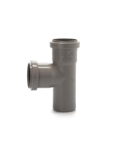 Trišakis vidaus kanalizacijos PVC 50 x 50 x 50mm / 87*