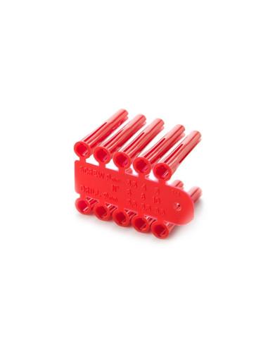 Kaiščiai antgaliai mūrvinių d5.5mm [10 vnt.]