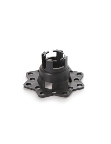 Fiksatorius armatūrai, plastikinis, nestabiliam pagrindui (lėkštutė), 25-30mm