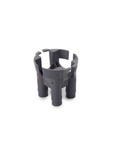 Fiksatorius armatūrai, plastikinis, tvirtam pagrindui (kėdutė), 25mm