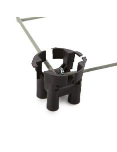 Fiksatorius armatūrai, plastikinis, tvirtam pagrindui (kėdutė), 30mm