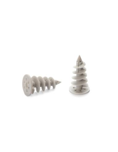 Spiralinis kaištis 50mm, polistireniniui putplasčiui