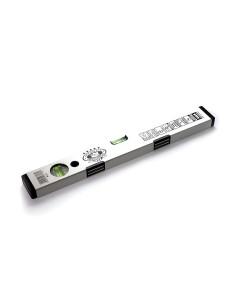 Gulsčiukas Magnet 600mm su magnetais, pilkas OLEJNIK