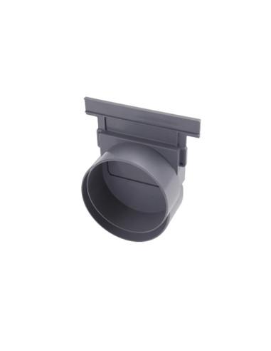 Grindinio latako aklė - horizontalus išbėgimas 110mm NAV177 Nicoll