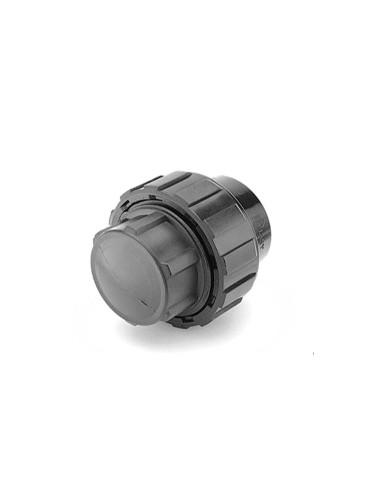 Aklė PE vandentiekio vamzdžio 63mm PP užveržiama