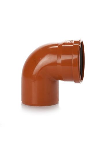Alkūnė lauko kanalizacijos PVC 160mm / 87*