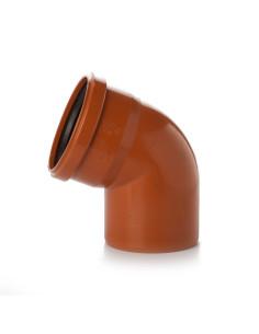 Alkūnė lauko kanalizacijos PVC 160mm / 67*