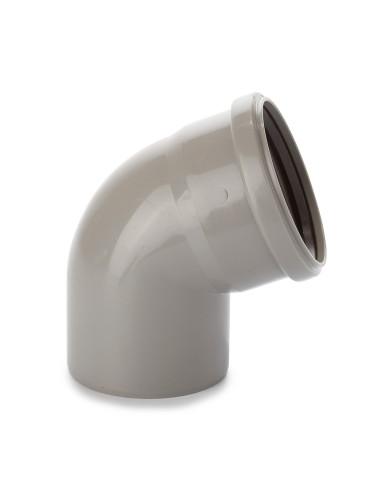 Alkūnė vidaus kanalizacijos PVC 110mm / 67*