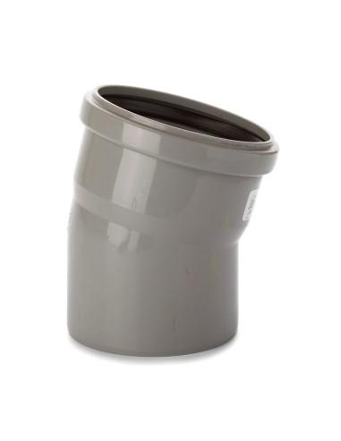 Alkūnė vidaus kanalizacijos PVC 110mm / 15*