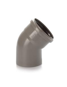 Alkūnė vidaus kanalizacijos PP 110mm / 45*
