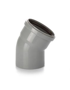 Alkūnė vidaus kanalizacijos PVC 110mm / 30*