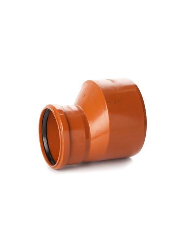 Perėjimas redukcija lauko kanalizacijos PVC 250/110mm