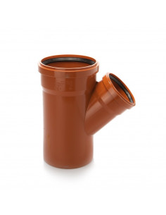 Trišakis lauko kanalizacijos PVC 500 x 400 x 500mm / 45*