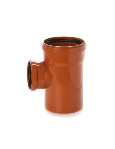 Trišakis lauko kanalizacijos PVC 400 x 110 x 400mm / 87*