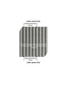 Banguoti lakštai EUROFALA 1250x1150mm CO/HO Raudona Cembrit
