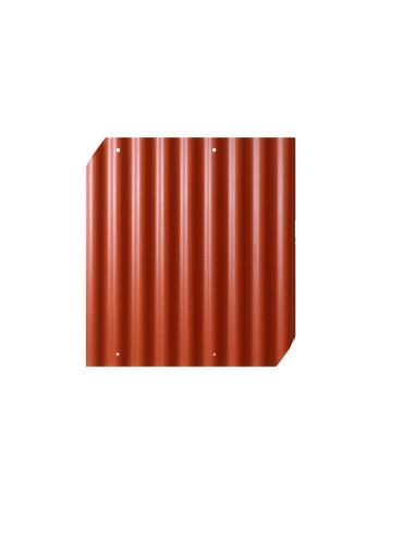 Banguoti lakštai EUROFALA 625x1150mm CO/HO Raudona Cembrit