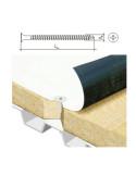 Sraigtas sąvigręžis metalui 4.8x120mm TORX galvute ZN WSR