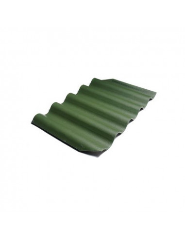 Banguoti lakštai GOTIKA 585x920mm Žalia Eternit
