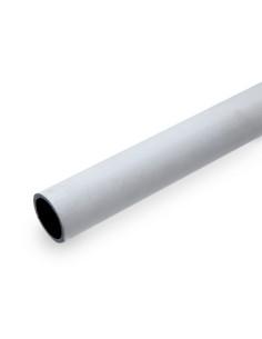 Vamzdis lankas šiltnamio karkasui 50mm baltas, ilgis 5.5m