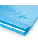Stabilizuota mėlyna polietileno plėvelė, plotis 6m, storis 120