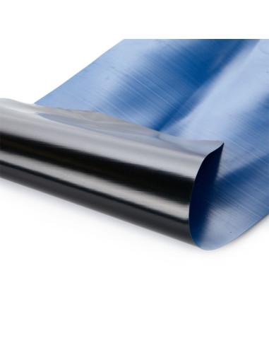 Baseininė plėvelė, polietileno, plotis 6.0m, storis 300mkr, mėlyna/juoda