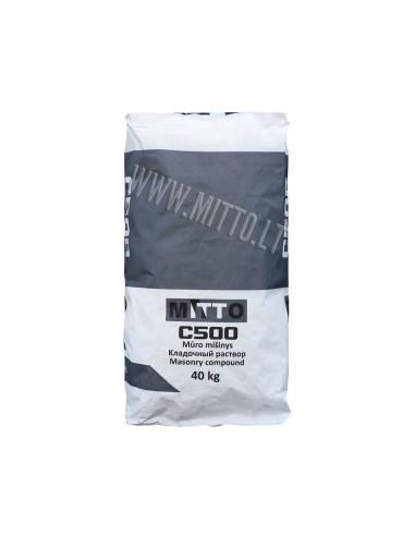 Mūro mišinys C500 MITTO, 40kg