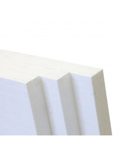 EPS60 fasadinis, storis 100mm, matmenys 1x0.5m, frezuotas [Lietuva]
