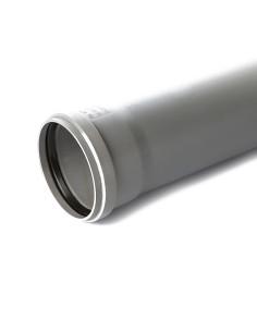 Vamzdis vidaus kanalizacijos PP 110mm, ilgis 0.5m