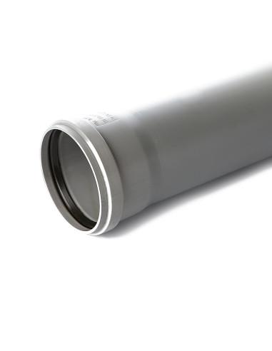 Vamzdis vidaus kanalizacijos PP 110mm, ilgis 1m