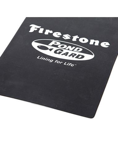 Baseininė plėvelė EPDM PondGard Firestone, plotis 7.62m, storis 1.0mm, juoda