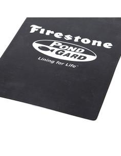 Baseininė plėvelė EPDM PondGard Firestone, plotis 15.25m, storis 1.0mm, juoda