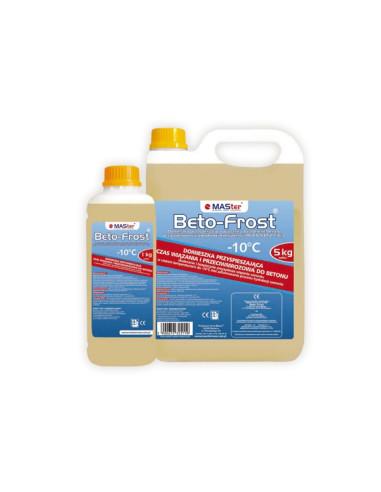 Plastifikatorius, nuo šalčio -10 MASter BetoFrost, 5 kg