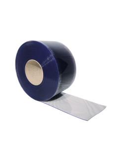 PVC juostų užuolaida, šalčiui atspari, lygi, plotis 200mm, storis 2.0mm
