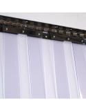 PVC juostų kronšteinas, nerūdijančio plieno, ilgis 984mm