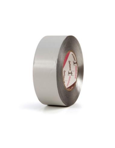 Klijavimo juosta, aliuminizuota, su popieriumi, plotis 50mm, ilgis 100mm