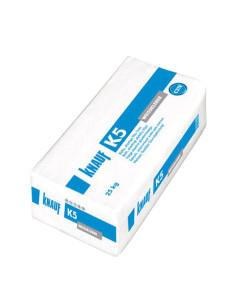 Klijai balti, elastingi, marmuro ir granito plytelių K5 Knauf 25kg