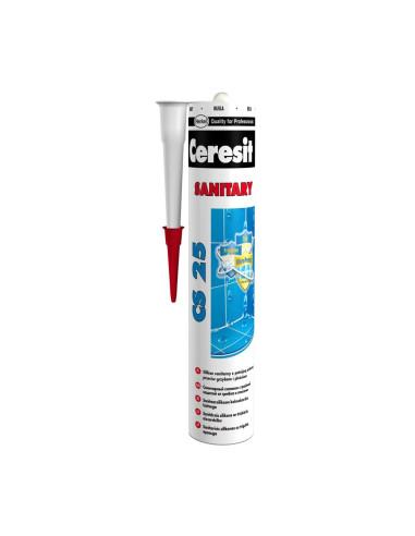 Sanitarinis silikonas CS25 Triple Protect 280ml Ceresit, spalva Mėtos 64