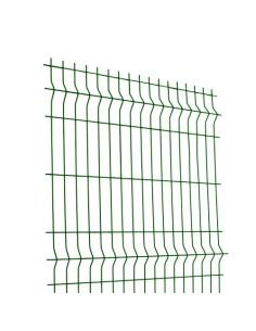 Tvoros segmentas, aukštis 1.53m, ilgis 2.5m, akutė 200x50mm, žalias