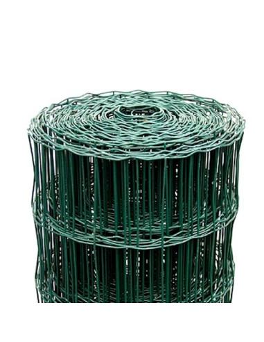 Tvoros tinklas ruloninis, aukštis 1,2m, akutė 100x75mm, žalias