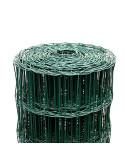 Tvoros tinklas ruloninis, aukštis 1.8m, akutė 100x50mm, žalias