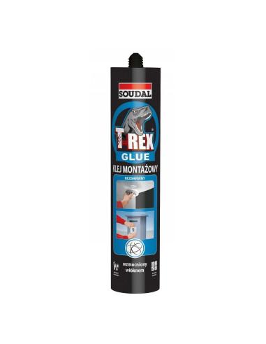 Montažiniai klijai skaidrūs T-REX Glue 310g SOUDAL